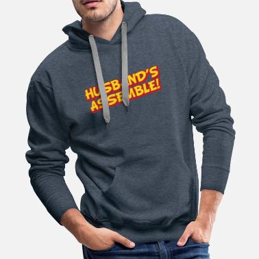 Engagement Party hen party, hens night, engaged,bachelor party - Men's Premium Hoodie