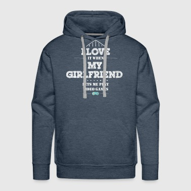 Gamer Shirt-I love it - Men's Premium Hoodie