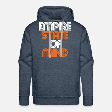 empire state of mind - Men's Premium Hoodie