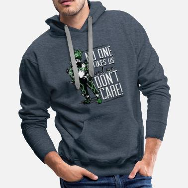 No One Likes Us No one likes US and we don't care shirt - Men's Premium Hoodie