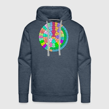 The Round Periodic Table of The Chemical Elements - Men's Premium Hoodie