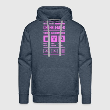 Cheerleader Cute And Funny Cheerleading Cheerleader - Men's Premium Hoodie