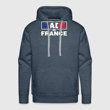 Rainbow Flag Made In France Proud Frenchman Pride French Flag - Men's Premium Hoodie
