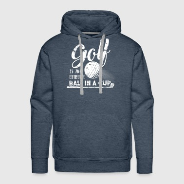 Golf Course Golf Sport golf club putter Golf course - Men's Premium Hoodie