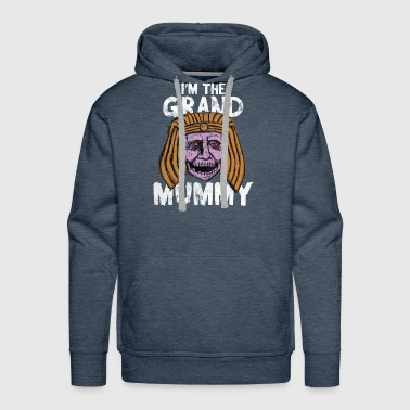 Mummy - I'm the grand mummy Halloween - Men's Premium Hoodie