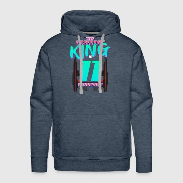 Lasertag - This King Is 11 Years Old - Men's Premium Hoodie