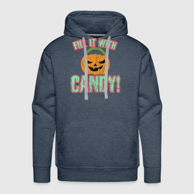 Halloween - Fill it with Candy - Men's Premium Hoodie