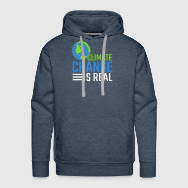 Greenpeace Climate Change Is Real Gift - Men's Premium Hoodie