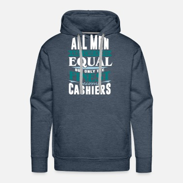 Cash Money cashier bank cash money - Men's Premium Hoodie
