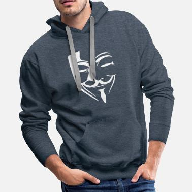 Hacker ANONYMOUS HACKER - Men's Premium Hoodie