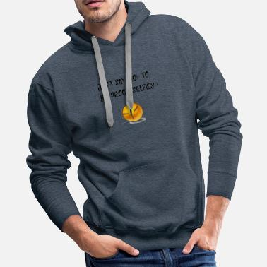 Bathroom No to bathroom selfies - Men's Premium Hoodie