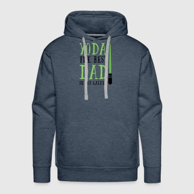 Yoda the best dad in the galaxy, Father's Day Gift - Men's Premium Hoodie