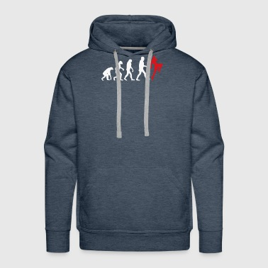 Muay thai evolution - Men's Premium Hoodie