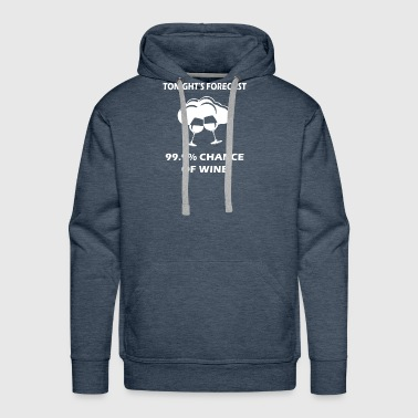 Tonights forecast - Men's Premium Hoodie