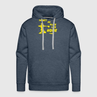 New Design There s no place like home Best Seller - Men's Premium Hoodie