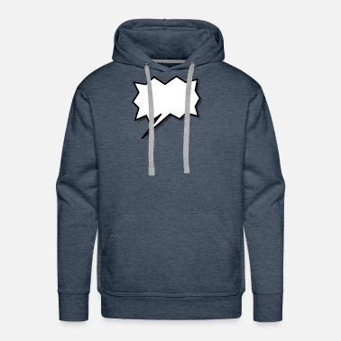 Speech Balloon Speech Balloon - Men's Premium Hoodie