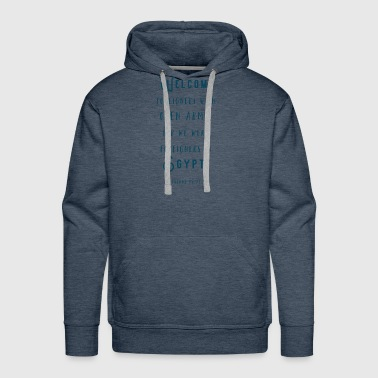 Foreign Welcome Foreigners - Men's Premium Hoodie