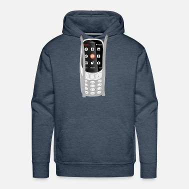 Mobile Mobile Phone - Men's Premium Hoodie
