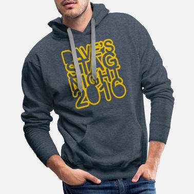 Stag Night Stag Do Stag Night - Men's Premium Hoodie