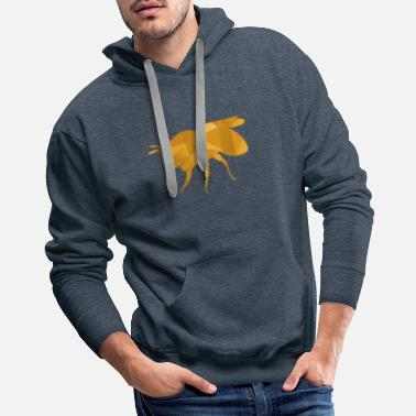 Bee Gold bee honey - Men's Premium Hoodie