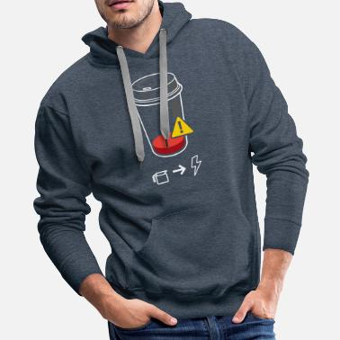 Require Refill Required - Men's Premium Hoodie