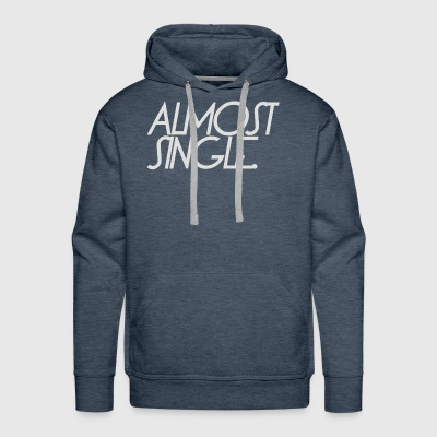 almost single divorce - Men's Premium Hoodie