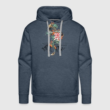 Dragon - Courage - Men's Premium Hoodie