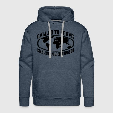 Brazil Sao Paulo South Mission - LDS Mission CTSW - Men's Premium Hoodie