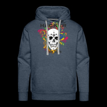 Dominant Gear Hacker for Life colorful - Men's Premium Hoodie