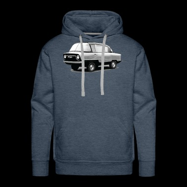 Vintage Soviet Muscle Car - Men's Premium Hoodie