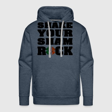 SHAKE YOUR SHAROCK St Patricks Day Shirt - Men's Premium Hoodie