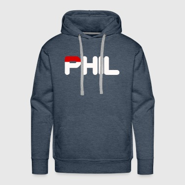 Phil White & Red Sportwears - Men's Premium Hoodie
