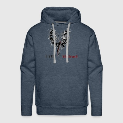 I am Abstract - Men's Premium Hoodie