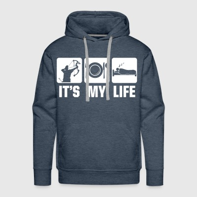 Its mylife Archery - Men's Premium Hoodie