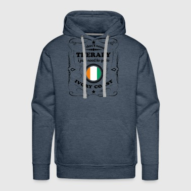 DON T NEED THERAPIE GO IVORY COAST - Men's Premium Hoodie