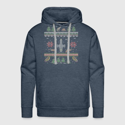 Ugly Firefly Christmas Sweater - Men's Premium Hoodie