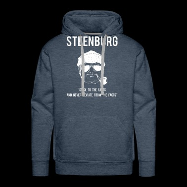 Thomas Steenburg Sasquatch Researcher Bigfoot Yeti - Men's Premium Hoodie