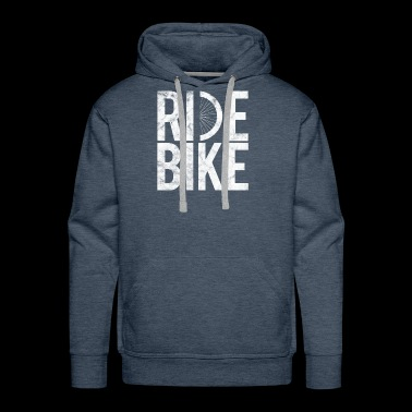 Bicycle Gift Bicycling BMX bike Ride Bike - Men's Premium Hoodie
