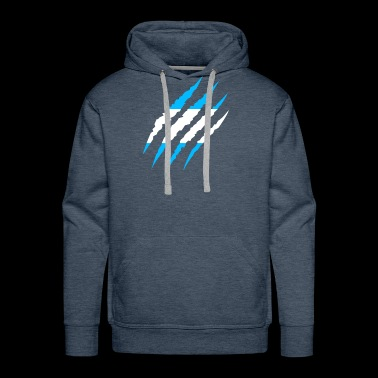 Argentina - Soccer Fan World Flag Gift 2018 - Men's Premium Hoodie