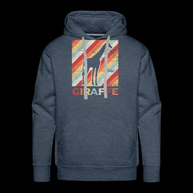 Colorful giraffe - Men's Premium Hoodie