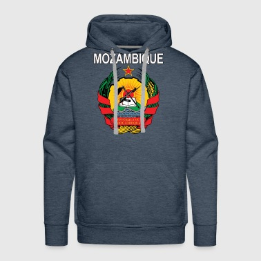 Mozambique coat of arms national design - Men's Premium Hoodie