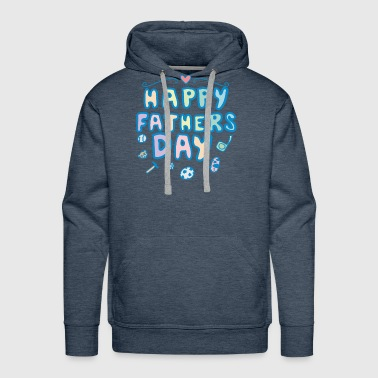 fathers day T Shirt - Men's Premium Hoodie