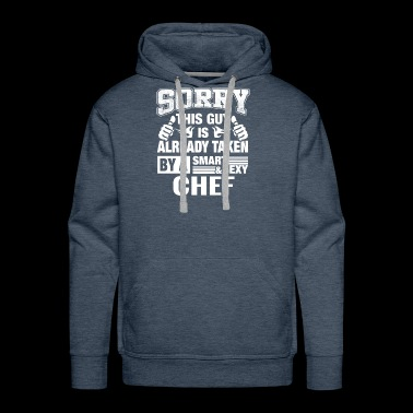 Chef Husband, Lover or Boyfriend Gift Shirt - Men's Premium Hoodie