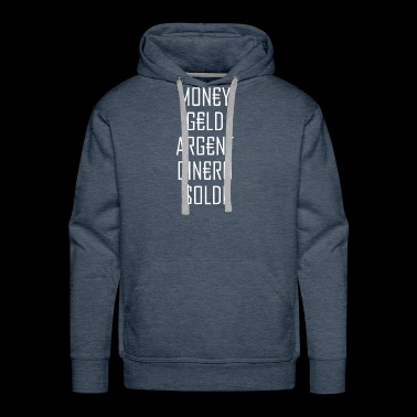 Money Rules the World - Men's Premium Hoodie