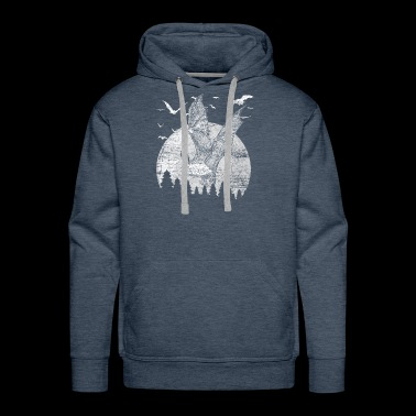 bats night - Men's Premium Hoodie