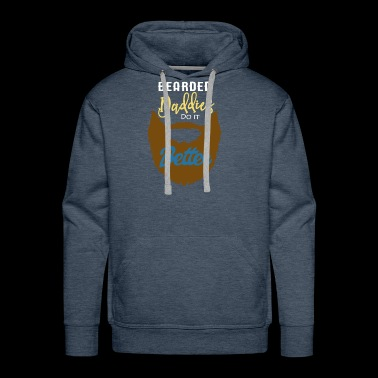 Bearded Daddies Do It Better - Men's Premium Hoodie