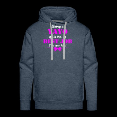 Being YaYo is best job ever - Men's Premium Hoodie