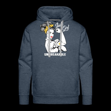 July Girl Unbreakable - Funny Birthday - Men's Premium Hoodie