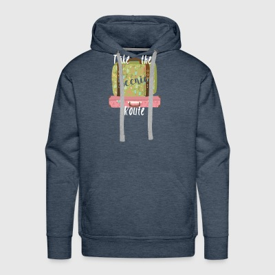 Take the Scenic Route - Men's Premium Hoodie