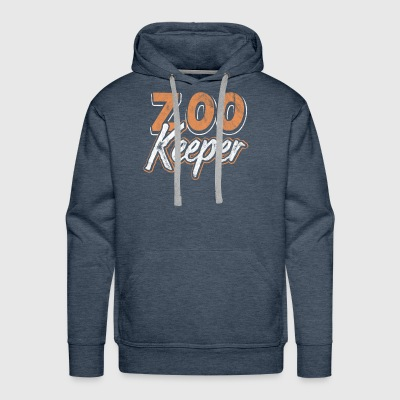 Shirt for Zookeeper as a gift - Men's Premium Hoodie